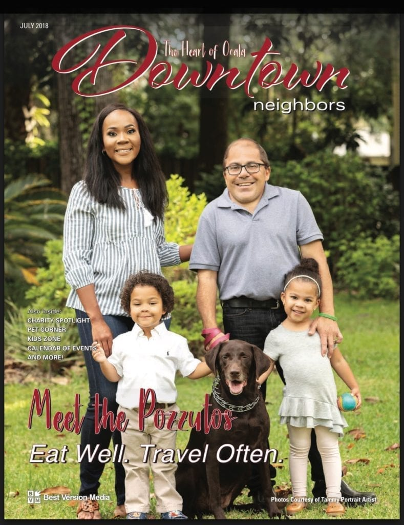 Criminal Lawyer Andrew Pozzuto and his family