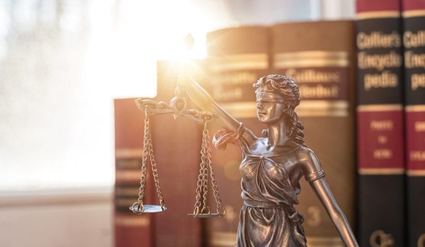 Lady Justice law image