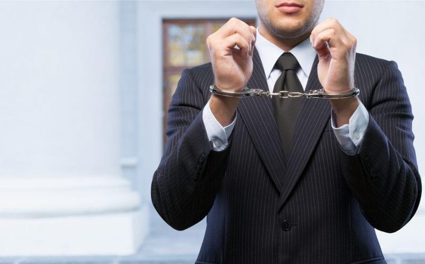 Man arrested for white collar crime