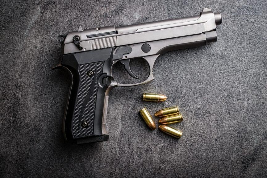 9 mm pistol firearm